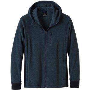 Prana Drey Full Zip Fleece Hoodie Jacket XL